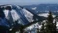 Sjezd z Luční hory Pramenným dolem 4.3.2018