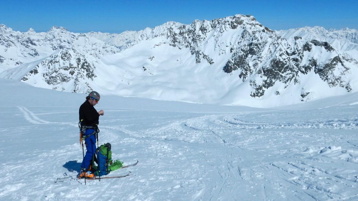 Pitztal výstup na Wildspitze (3.772m) 24.3.2018 (Pavel)