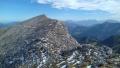 vrchol Toter Mann, v zimě hůře dostupný
