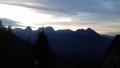velkýa malý Prier po západu slunce od Zellerhutte