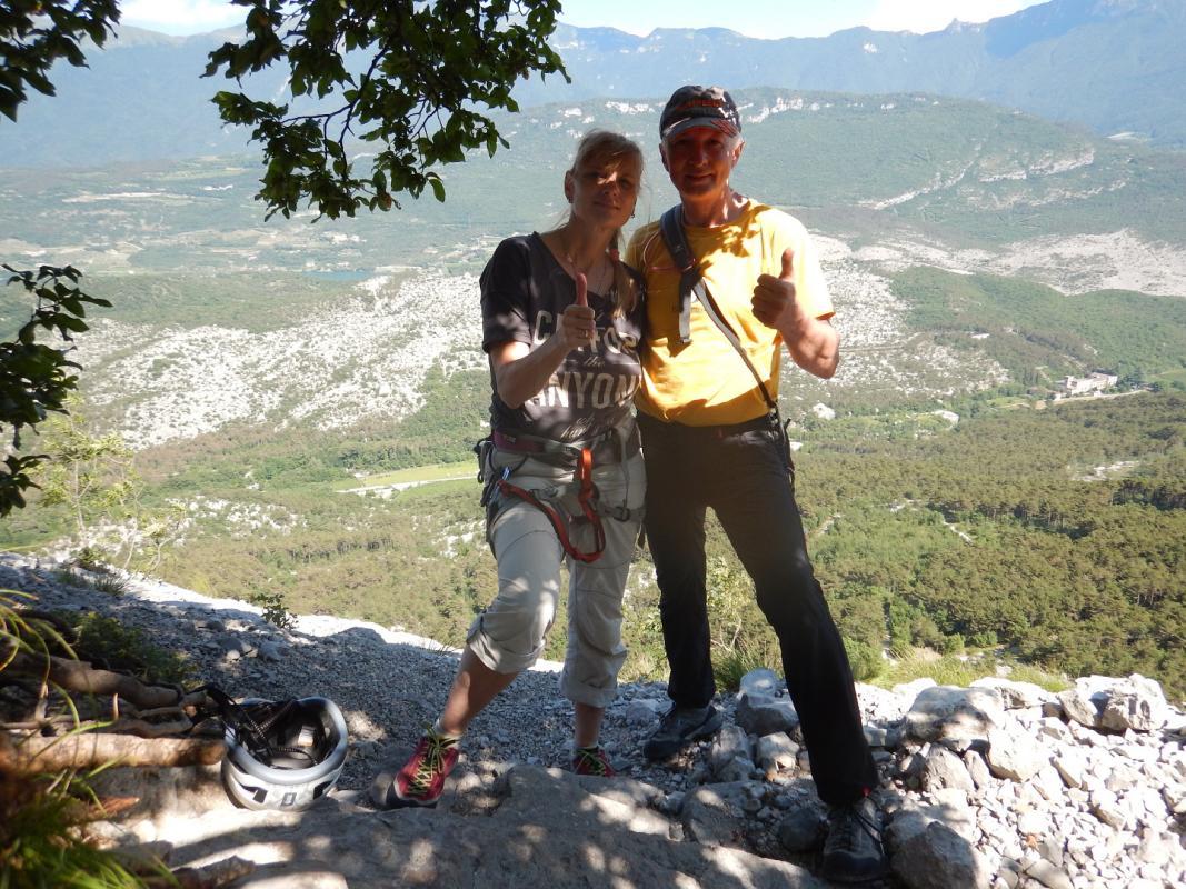 ARCO 2015 = naše první italská vícedélka