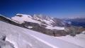 Horní stanice Alpin Metra - Mittelallalin (3.456m) - je už pod námi ...