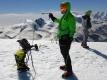 jo, jo tam jsem byl v zimě vlevo Strahlhorn (4.190m) vpravo Rimpfischhorn (4.198m) ... tam mi tedy vysí vlastně pytel :-)