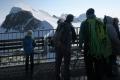 Na terase Klein Matterhorn (3.883m)