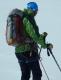špičkový horský vůdce Viktor a jeho batoh sbalený na 3 dny