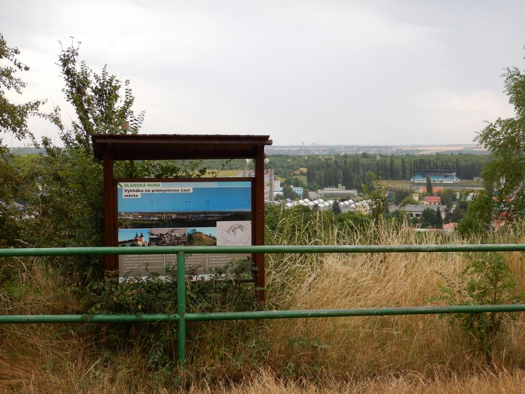Slánská hora via ferrata