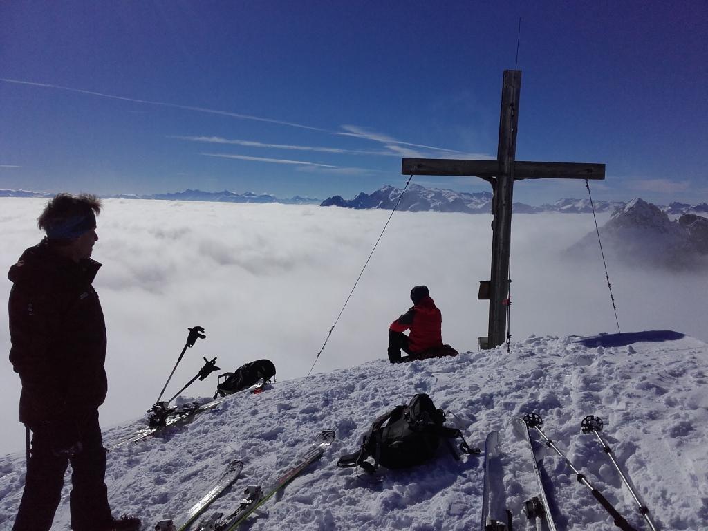 Tennengebirge 23.-24.2.2018, Petrs