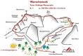 TOPO výstupu Warscheneck-Südost-Grat
